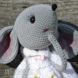 maskotki urodziny szydełkowa przytulanka, myszka