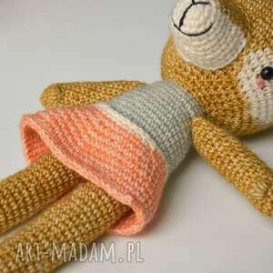 handmade maskotki szydełkowa przytulanka madame