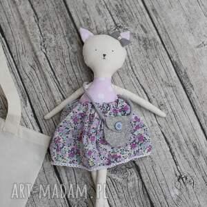 maskotki: Tilda kotek maskotka lalka
