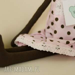 królik maskotki różowe urocza króliczka dla dziewczynki