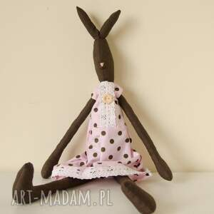ręcznie zrobione maskotki królik urocza króliczka dla dziewczynki