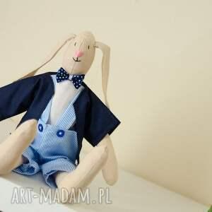 hand made maskotki dziecko uroczy pan królik - idealny