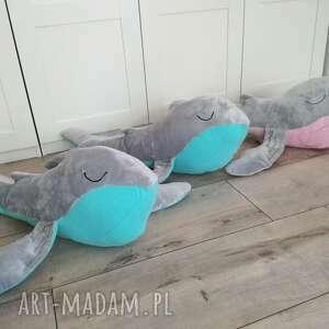 modne maskotki wieloryb wielorybek podusia milusia