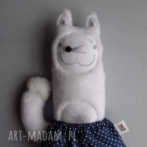 wilk maskotki białe wilczyca bessie - na zamówienie