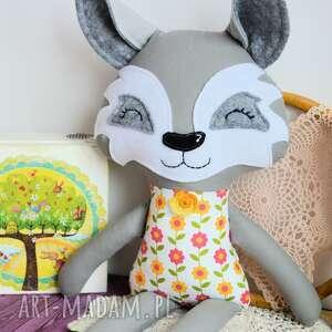ręcznie zrobione maskotki wilk - panna hania - 45