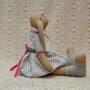 hand-made maskotki roczek żona marynarza wielbicielka piesków