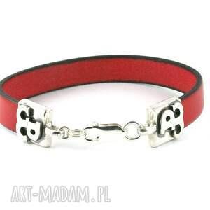 czerwone męska polska bransoleta walcząca