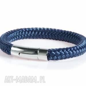 męska: bransoletka z liny bransolety męskie bransoletki Argento