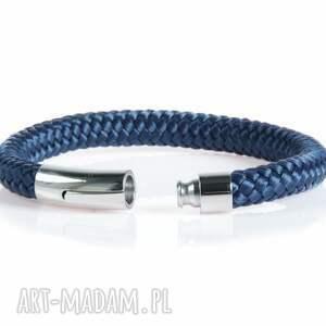 Argento akcesoria hand made męska bransolety bransoletka z liny