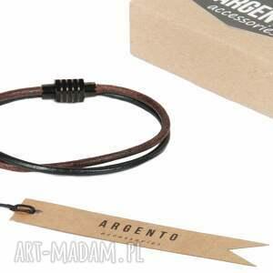 urokliwe męska bransolety modna bransoleta zrobiona z rzemienia ze
