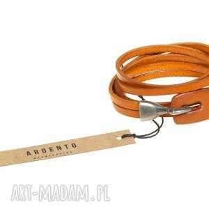ręczne wykonanie męska bransolety bransoletka skórzana jasny