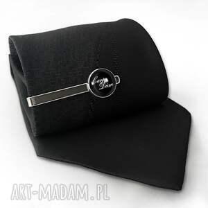 hand-made męska spinka carpe diem - do krawata