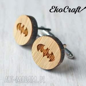 gustowne męska spinki drewniane do mankietów