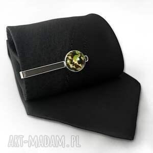 eleganckie męska kamuflaż - spinka do krawata