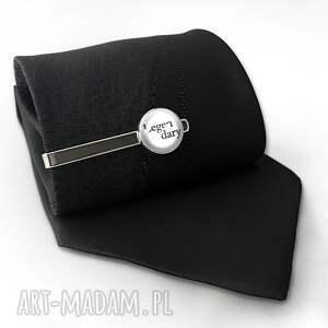 handmade męska legendary legandary - spinka do krawata