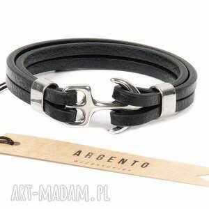 ręczne wykonanie męska bransoletki modna bransoletka skórzana