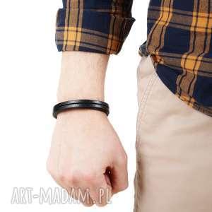 Argento akcesoria niekonwencjonalne męska bransolety modna bransoletka skórzana