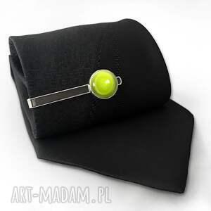 męska piłka tenisowa - spinka do krawata