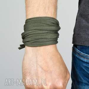 bransoletki pleciona bawełniana bransoletka