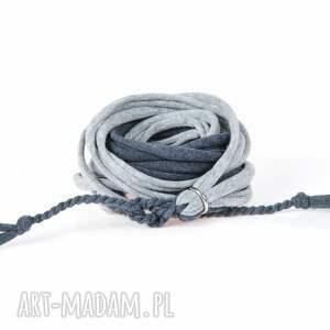 męska: Pleciona bawełniana bransoletka bransolety męskie Argento akcesoria sportowa