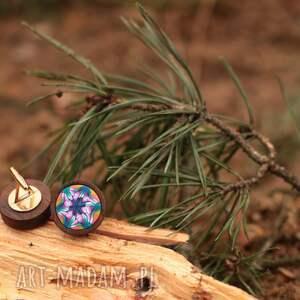 pomysł na prezent pod choinkę spinki do mankietów z mahoniu