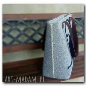 ciekawe torby duża minimalistyczna torebka