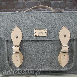 hand made torba filcowa - personalizowana -