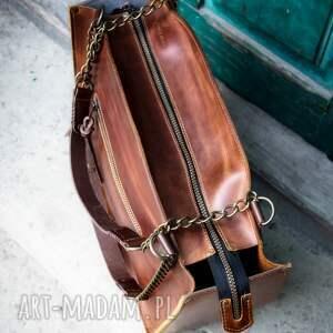 Ladybuq Art Studio kuferek ręcznie robiona torba z łańcuchami od Art stylowa