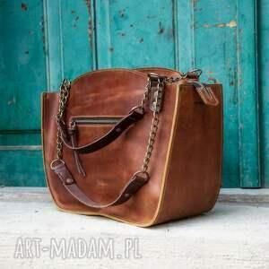 handmade torba miejska kuferek ręcznie robiona