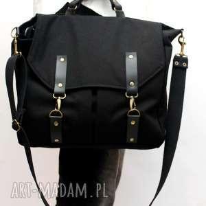 unisex torba czarna