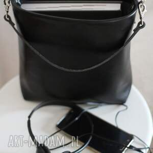 mini torebka mała czarna