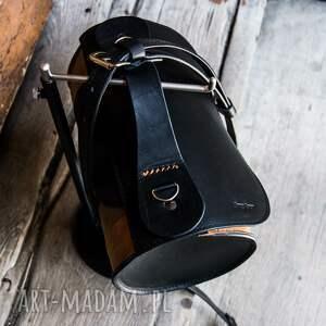 mini: mała podręczna torebka na lato wakacyjna od ladybuq art torba skórzana