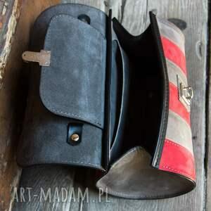 Ladybuq Art Studio mini: mała podręczna torebka w pięknych kolorach od skórzana na zamówienie torba przez ramię