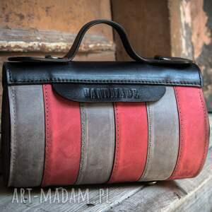 szare mini torba wizytowa mała podręczna torebka w pięknych