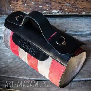 oryginalna torebka mini czerwone mała podręczna w pięknych