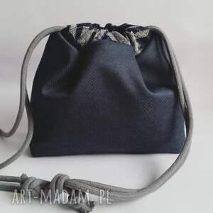 torebka mini niebieskie mała wodoodporna - pepita &