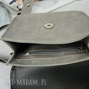 srebrne mini koperta manzana torebka elegancka koprtówka