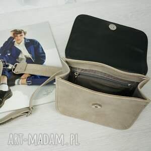 torebka mini szare manzana elegancka
