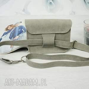 torebka mini szare manzana elegancka koprtówka