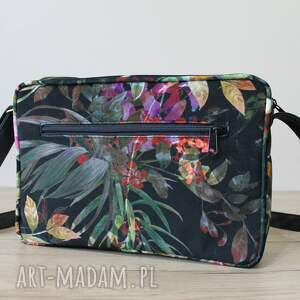 pomysł na upominki prezent single bag - tropikalne kwiaty