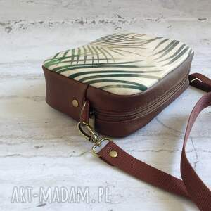 unikalne mini box bag skórzana torebka