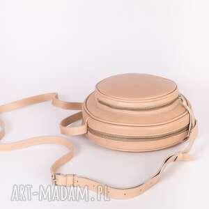 handmade mini torebkaspacerowa skórzana torebka calypso