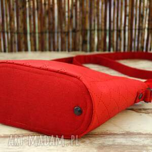 czerwone mini torebka torebeczka