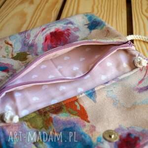 mini różowe torebeczka / kosmetyczka