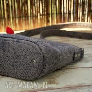 torebka mini szare torebeczka