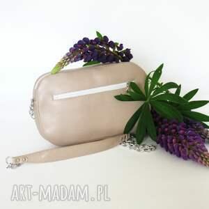 mini polska torebka bransoletka skórzana
