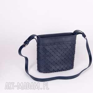 eleganckie mini torebkamini torebka łuska mała granat