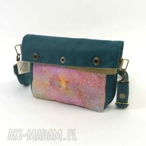 beżowe mini prezent torebka na ramię i biodro