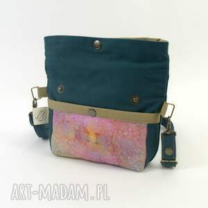 biodro mini zielone torebka na ramię i