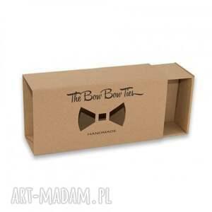 The Bow Bow Ties modne muchy i muszki mahoń skład drewnianej: 100% sapeli (